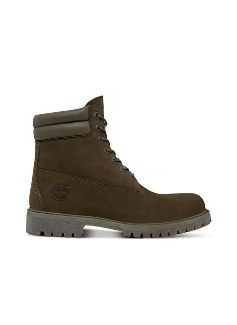 Timberland 6 in Double Collar Boot | Su Geçirmez Yeşil